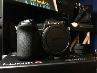 Lumix G9 with battery grip (Body only)