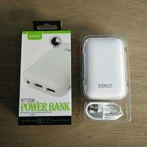Powerbank Robot RT7200 6600mAh