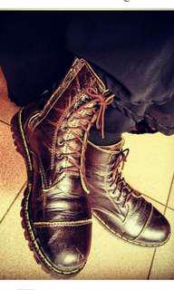 Sepatu Boots Kulit Size 38