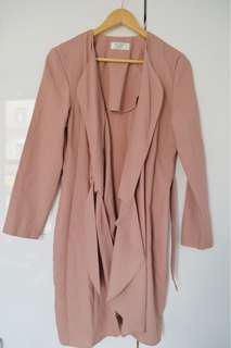 Vintage pink dress/duster jacket