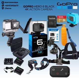 GoPro HERO 6 Black Bundle Package