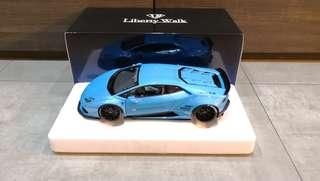 1/18 Autoart LB-Works Lamborghini Huracan (Metallic Sky Blue) #79122