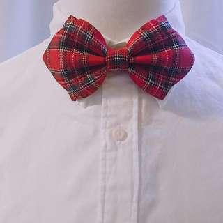 〔100%Handmade〕格仔 Bow tie 煲呔