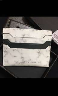 Charles and Keith Card Holder (雲石 marble 卡片套)