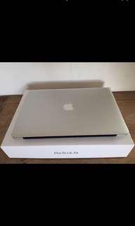 APPLE 官網最新 MacBook Air 13 i5-1.8G 256G 保固至十一月底 保護貼 電池僅68次