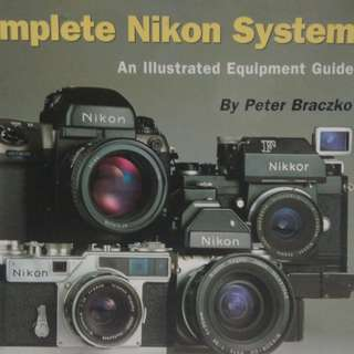 Complete Nikon System, Peter Braczko, good condition