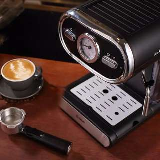 Italian Coffee Machine Semi-automatic Home Full Temperature Control
