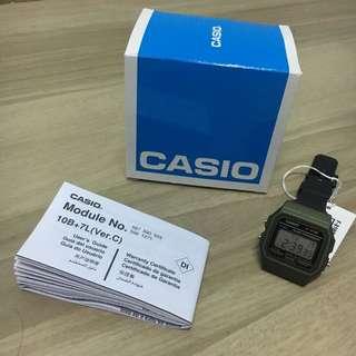 Casio Watch F91WM-3ADF