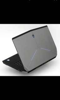 DELL ALIENWARE 電競 i7-6700 頂級GTX 980M-4G 高階intel 480G SSD