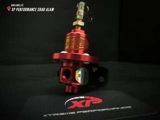 Fuel pressure Regulator SARD adjustable fitment Red color