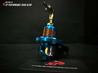 Fuel pressure Regulator SARD adjustable fitment Sky Blue color
