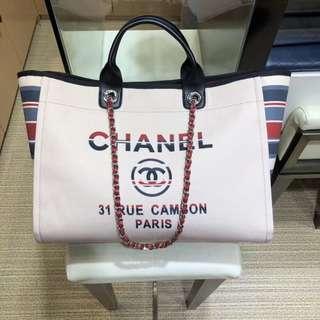 Chanel 帆布袋