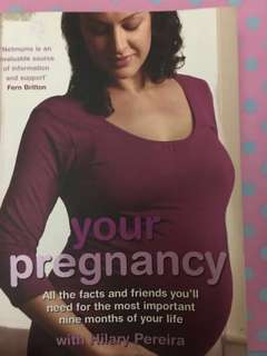 Pregnancy book - Your pregnancy with Hilary pereira