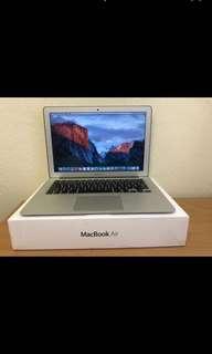 APPLE MacBook Air 13 i5-1.6 8G HD6000 近全新 電池僅105次