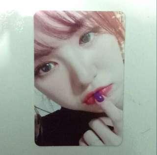 Wendy Kihno Album Random Photocard