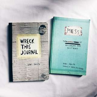 Wreck This Journal & MESS (Package deal)