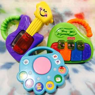 Baby Toys - Set of 3