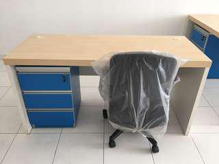 Office Table c/w Pwdestal Drawer only