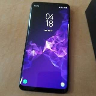Samsung Galaxy S9 plus Coral Blue Brand New & Sealed