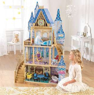 (PO) BN KidKraft Disney Princess Cinderella Royal Dreams Wooden Dollhouse