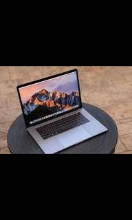 APPLE 官網最新款 MacBook Pro 15 2.8 保固至2019二月 Touch Bar 電池僅16次