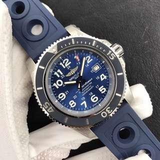 面交Check錶 Noob工廠 breitling 百年靈 超級海洋系列 藍色