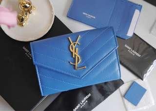 Ysl Saint Laurent Card Holder Small Wallet