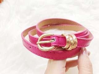 Sabuk fashion wanita PINk