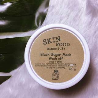 SKIN FOOD | Black Sugar Mask Wash Off