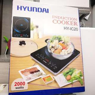 全新韓國Hyundai 超薄電磁爐 2000W HY-IC20 Brand New Korea Hyundai Ultra-Thin Induction Cooker 2000W HY-IC20