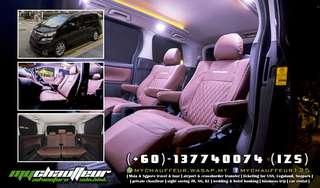 VIP Chauffeur with Toyota Vellfire
