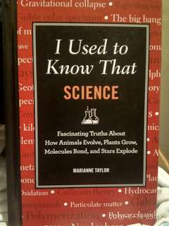 I Used to Know That Science (Marianne Taylor)