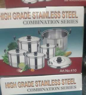 Panci High Grade Stainless Stell