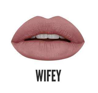 [ CLEARANCE ] Huda Beauty Liquid Matte Lipstick Nude Love Collection WIFEY