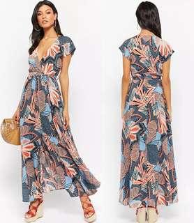 OshareGirl 07 美單女士熱帶印花連身洋裝連身裙