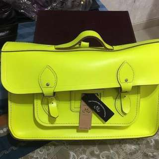 """真皮背囊英國The Cambridge satchel company 15""""吋 backpack unisex 男女都用得 背包 返學 書包 劍橋 牛津 #mayflashsale"""