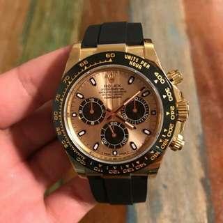 Rolex勞力士 宇宙計型迪通拿系列 18K黃金116518LN 自動機械錶