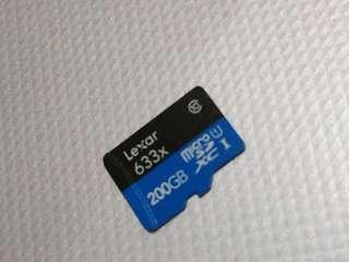 Lexar 200gb sd card
