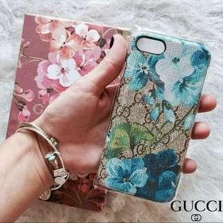 Luxury Gucci Blue Blossom Case