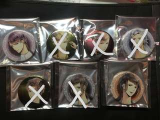 Tsukipro SQ Origins Badges