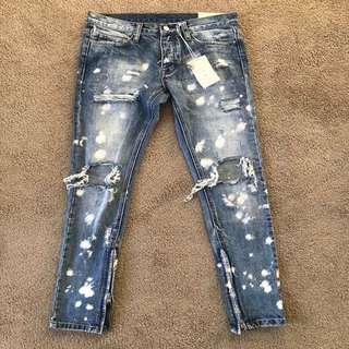 Mnml M1 Splash Stretch Jeans - Size 29