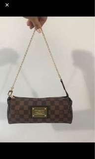 Louis Vuitton Eva clutch damier ebene 1:1 brand new