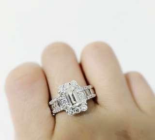 主石1.10CT 鑽石💎戒指 1卡半 鑽戒 Diamond ring