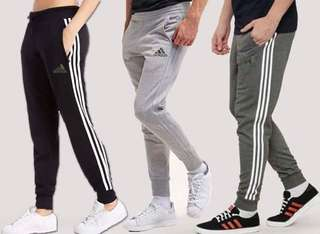 ADIDAS JOGGER WITH ZIPPER POCKETS