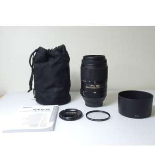 Nikon AF-S 55-300mm F4.5-5.6 DX VR