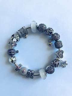 Sterling Silver Charm Bracelets And Charms Fit Pandora