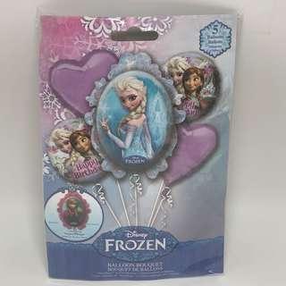 Frozen Balloon Bouquet 5pc - Giant Foil Balloons