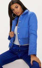 Blue puffer jacket 8 crop