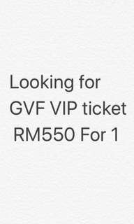 WANT Good Vibes VIP TICKET