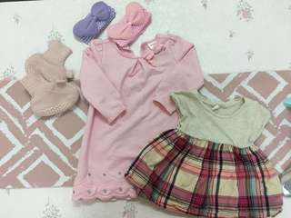 Dress and clothes for girls